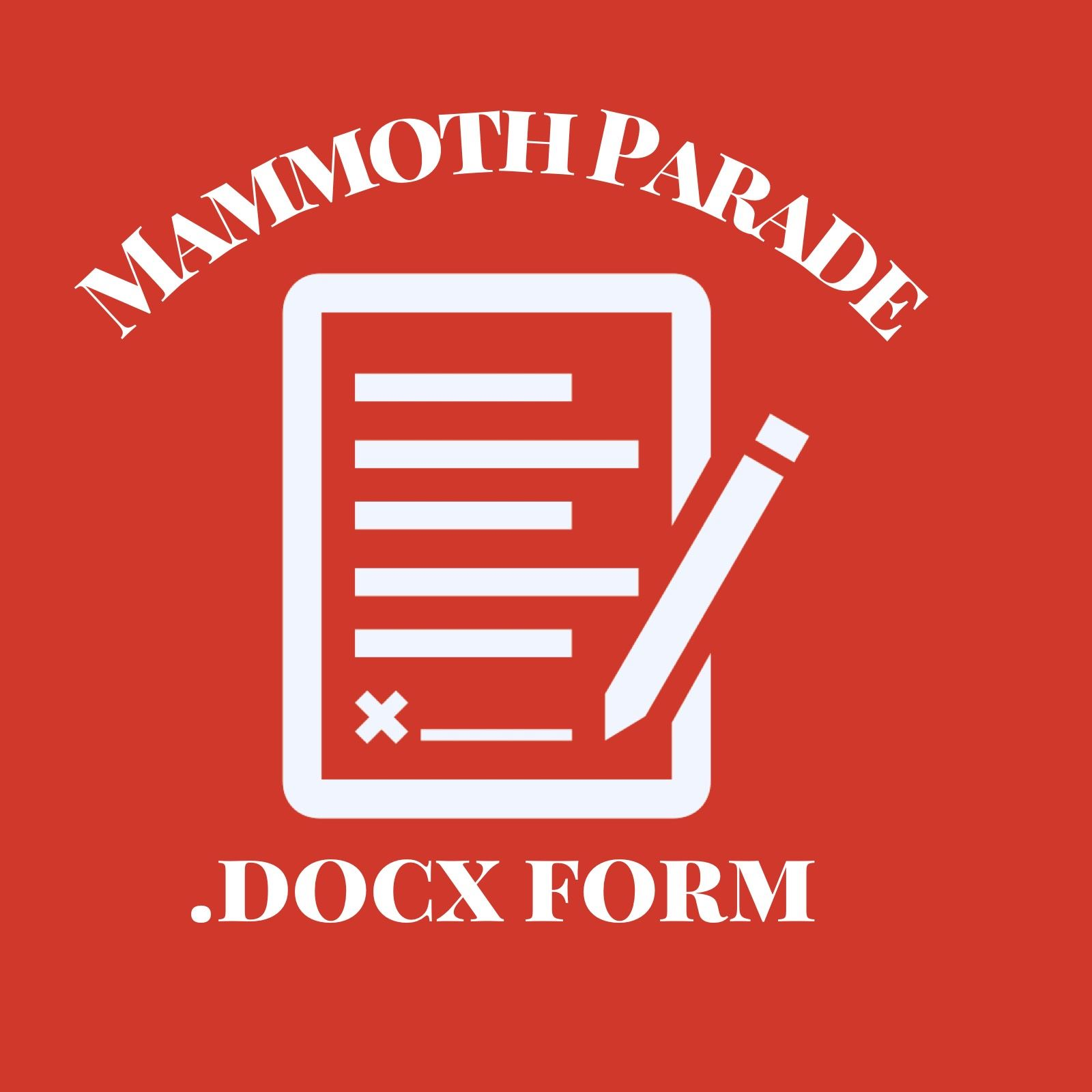 Mammoth Parade .doc format button